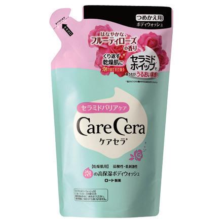泡の高保湿ボディウォッシュ フルーティローズの香り / 詰替 / 350ml