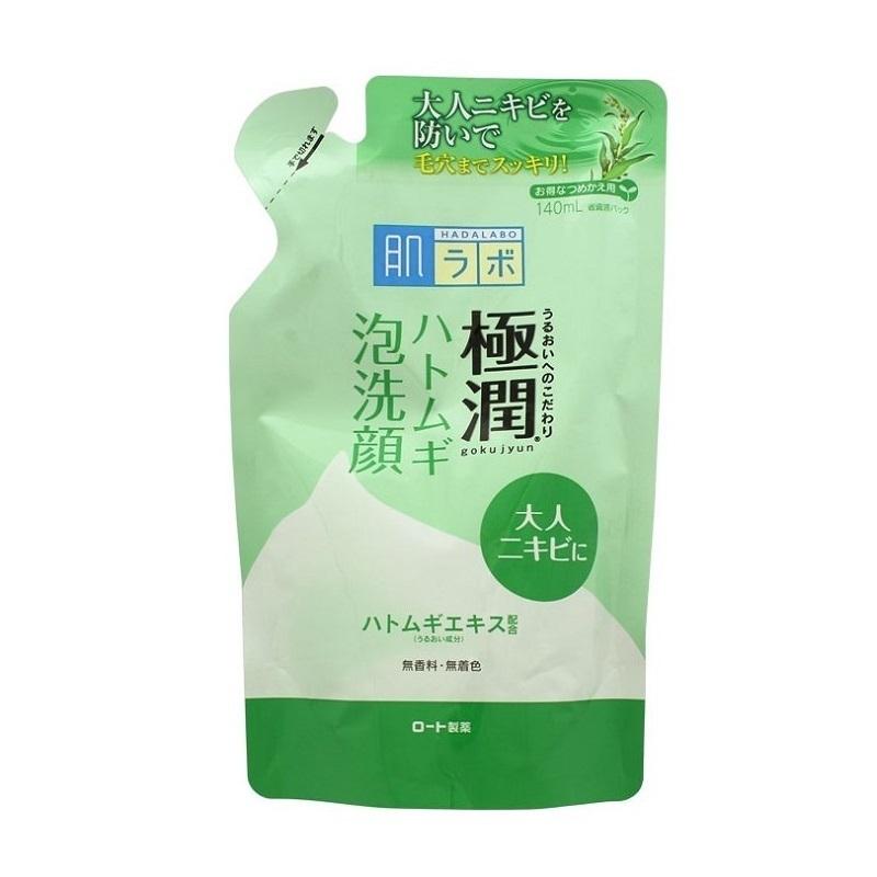 極潤 ハトムギ泡洗顔 / 詰替 / 140ml