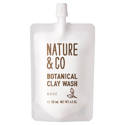 ボタニカル クレイ ウォッシュ / 120g / 深呼吸したくなるリラックスハーバルグリーンの香り