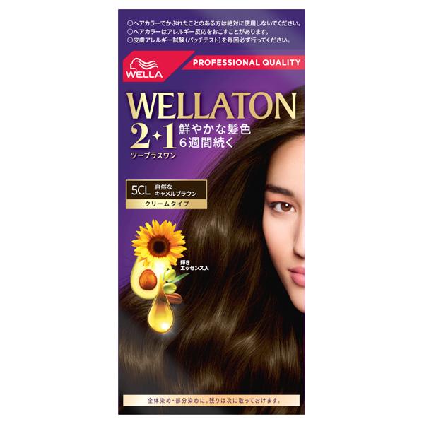 ウエラトーン ツープラスワン クリームタイプ / 5CL / 60g+60g+7.3mL
