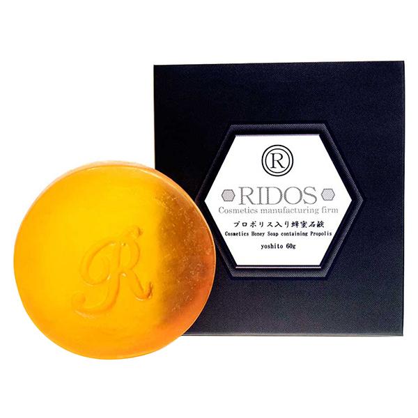 プロポリス入り蜂蜜石鹸 ヨシト / 本体 / 60g / ハチミツの香り