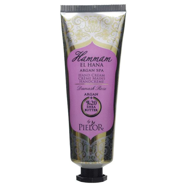 ハマムエルハナ アルガンスパ ハンドクリーム ダマスクローズ / 30ml / 幸福感あふれるフェミニンな香り