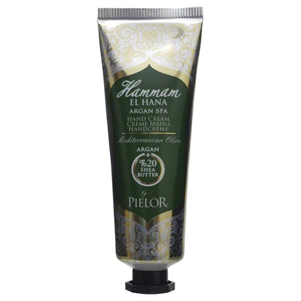 ハマムエルハナ アルガンスパ ハンドクリーム メディテレーニアンオリーブ / 30ml / さわやかに広がるフレッシュな香り