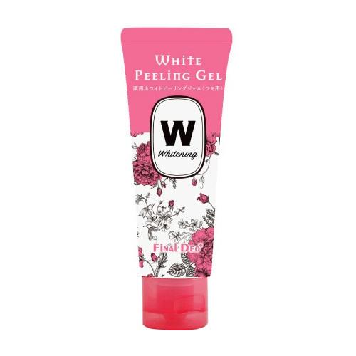 薬用ホワイトピーリングジェル(ワキ用) ファイナルデオプラス / 50g / 天然ハーブの香り