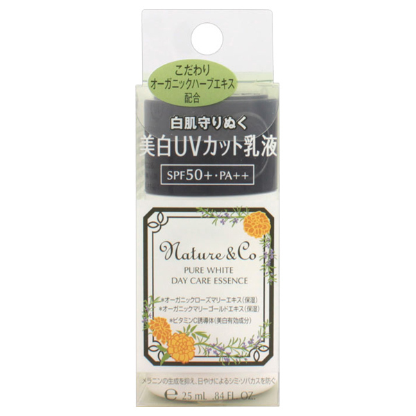 ピュアホワイト デイケアエッセンス / SPF50+ / PA++ / 30g / フレッシュハーブの香り