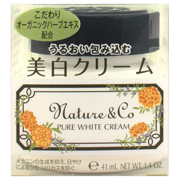 ピュアホワイト クリーム / 40g / フレッシュハーブの香り