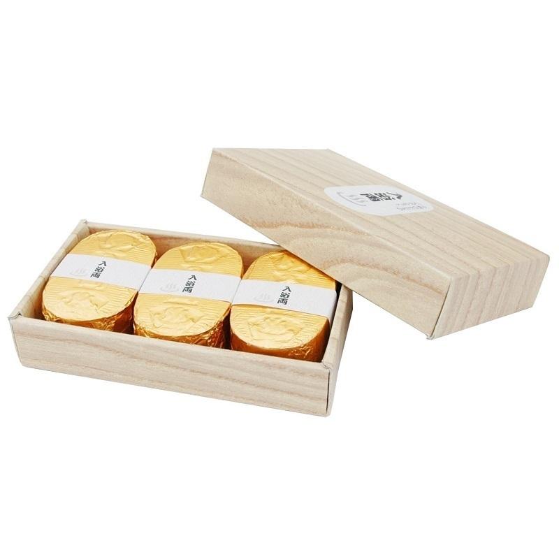 小判型バスボム入浴両 / 3個 / ゴールデンブーケの香り