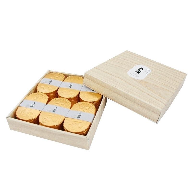 小判型バスボム入浴両 / 6個 / ゴールデンブーケの香り