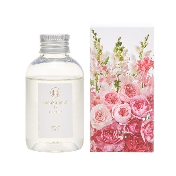 バスオイル URARAKA / 100ml / バラの香り