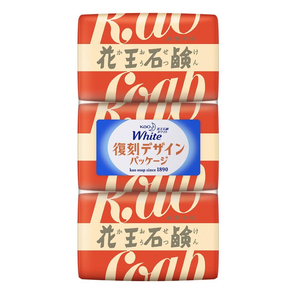 花王ホワイト ホワイトフローラルの香り / 復刻デザイン / 3個セット