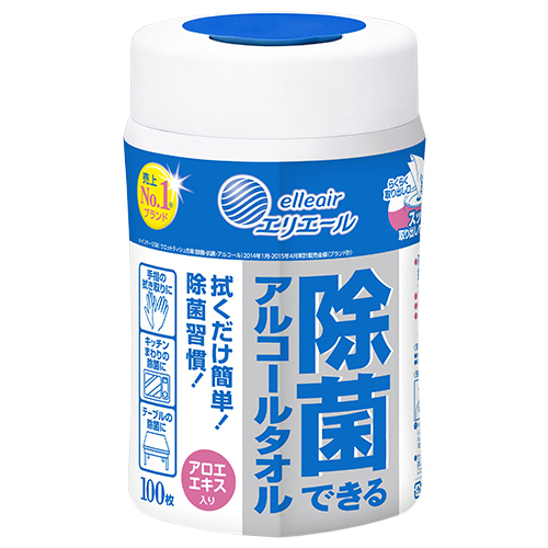 除菌アルコールタオル / 本体 / 100枚
