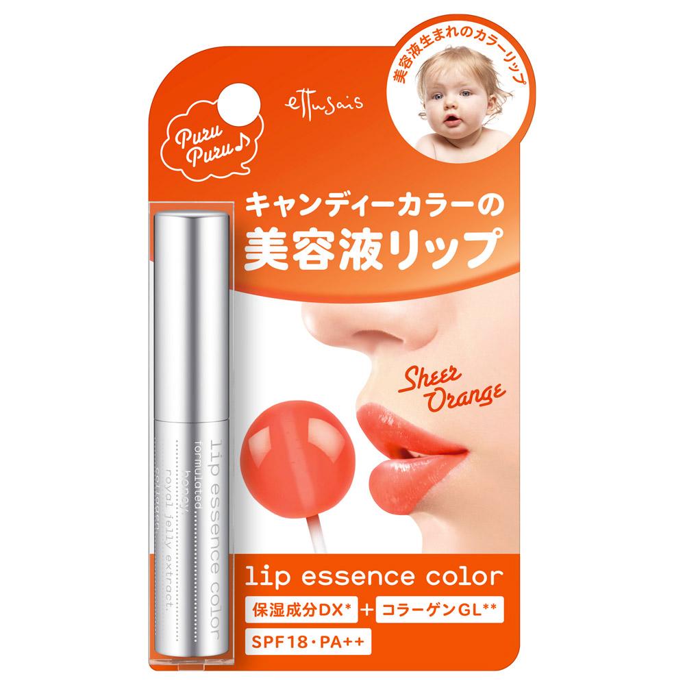 リップエッセンスカラー / SPF18 / PA++ / 本体 / OR / 2.2g / 無香料
