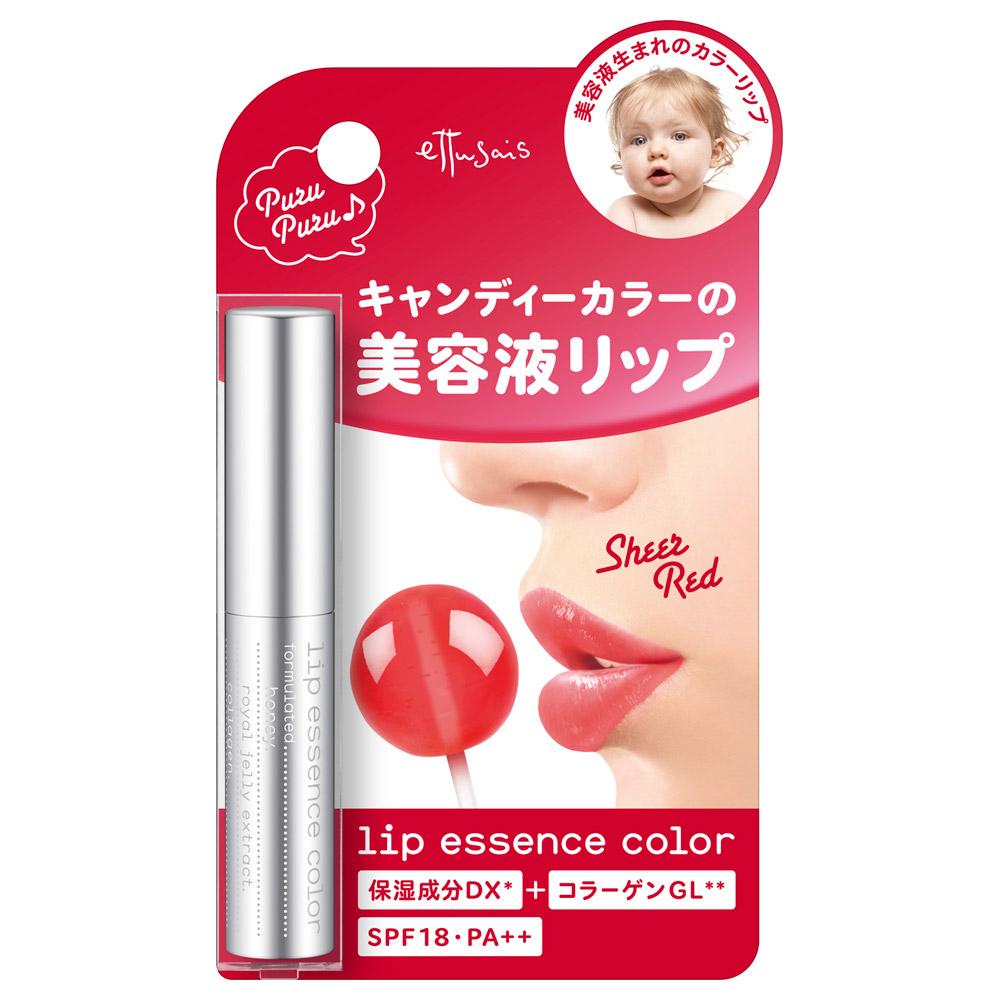 リップエッセンスカラー / SPF18 / PA++ / 本体 / RD / 2.2g / 無香料