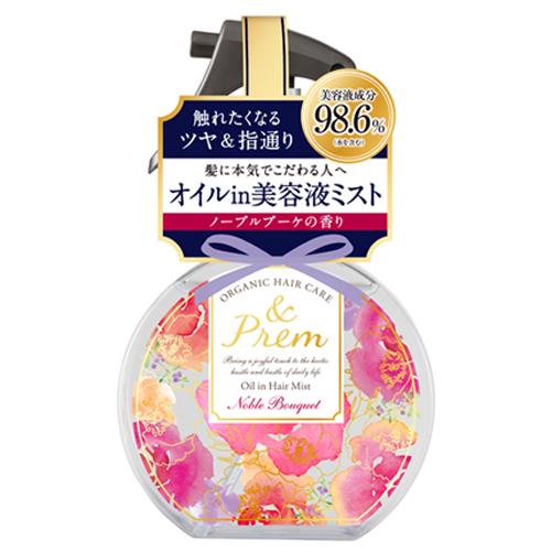 アンドプレム オイルインヘアミスト<ノーブルブーケの香り> / 140ml