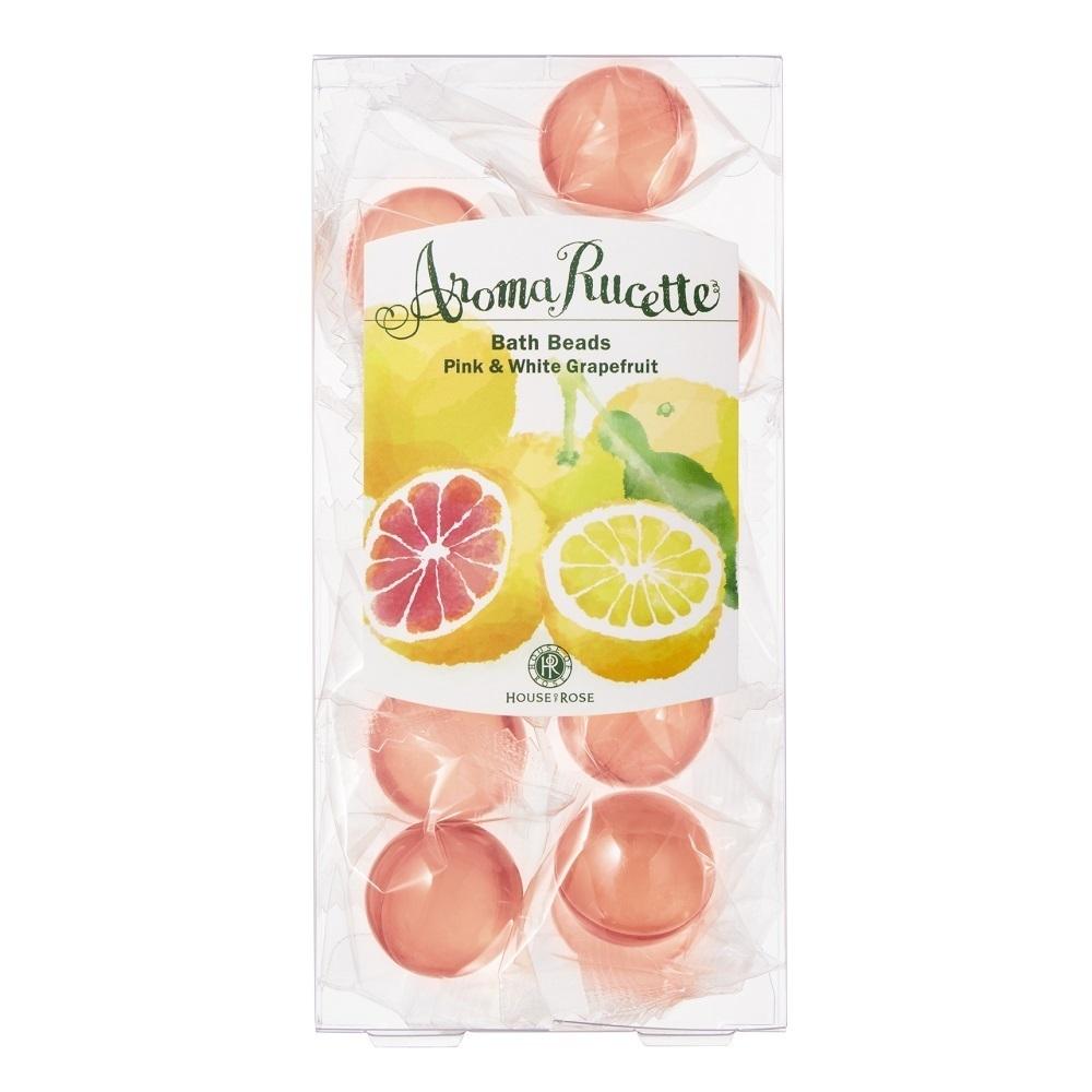 アロマルセット バスビーズ PG&WG / 7g×11個 / ピンク&ホワイトグレープフルーツの香り