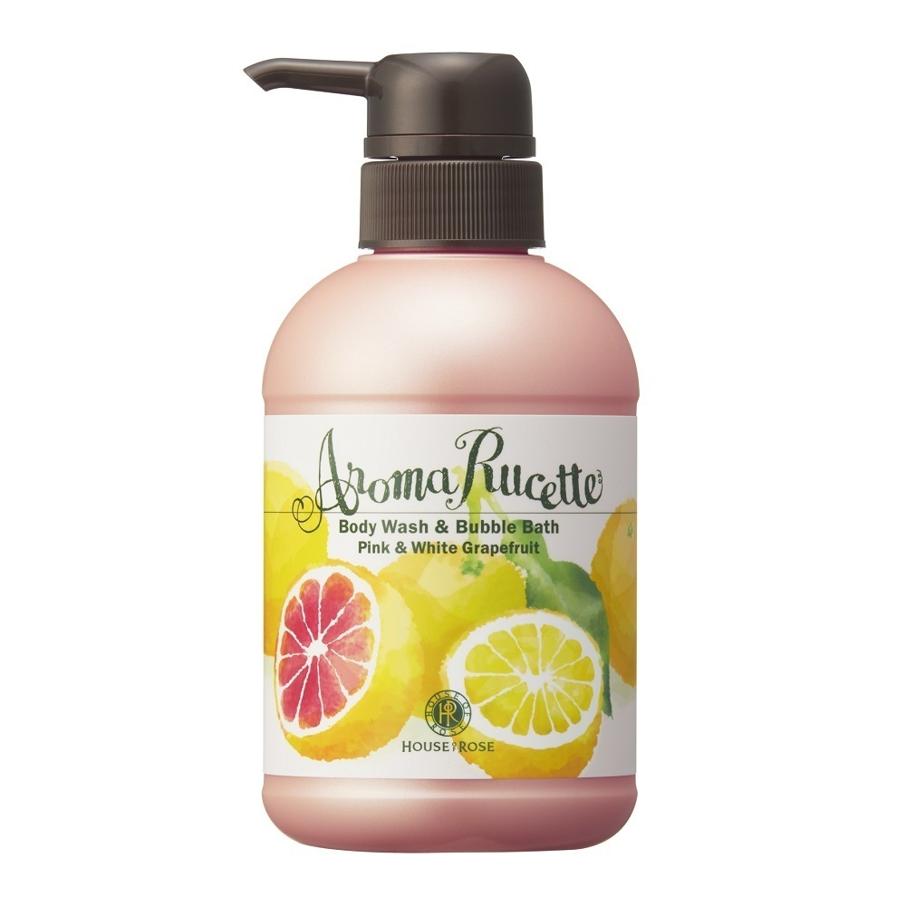アロマルセット ボディウォッシュ&バブルバス PG&WG / 350ml / ピンク&ホワイトグレープフルーツの香り