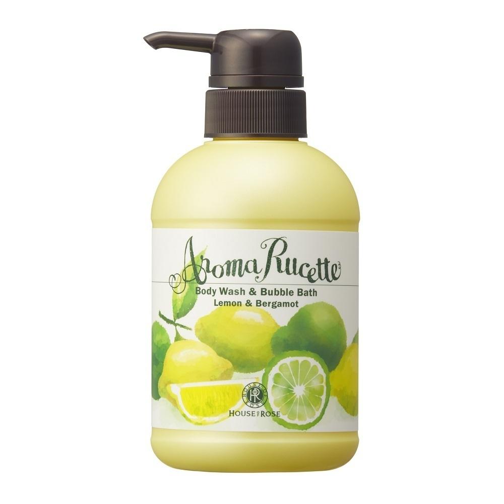 アロマルセット ボディウォッシュ&バブルバス LM&BG / 350ml / レモン&ベルガモットの香り