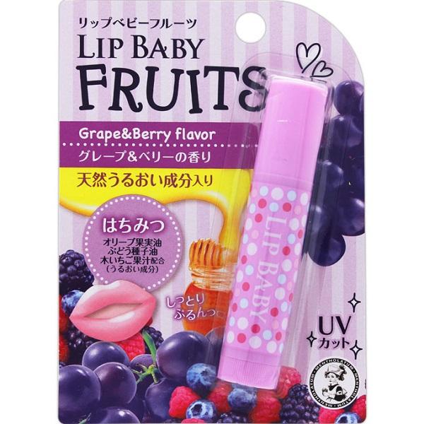 リップベビーフルーツ グレープ&ベリーの香り / グレープ&ベリー / 4.5g / グレープ&ベリーの香り
