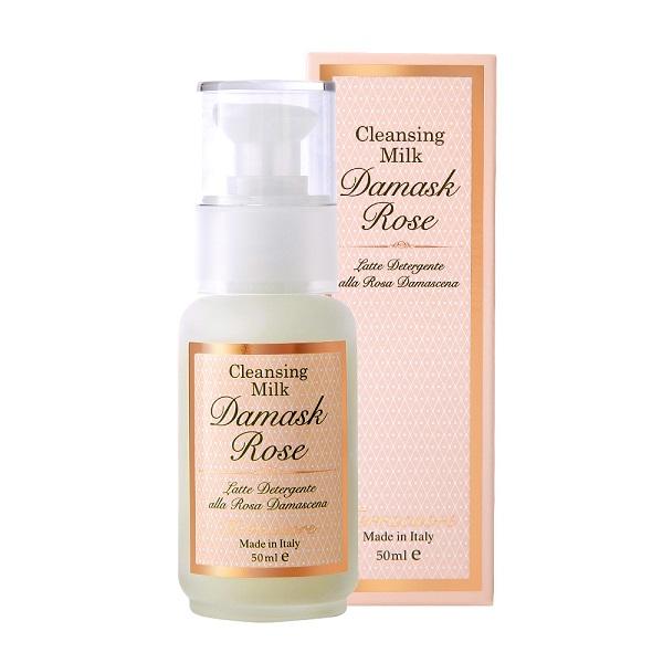 ダマスクローズ クレンジングミルク(洗い流し用) / ミニサイズ / 50ml / ダマスクローズの香り