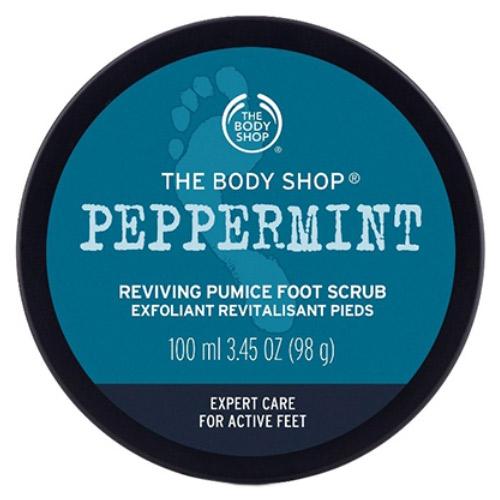 ペパーミント スムージング パミス フットスクラブ / 本体 / 100ml / ペパーミントオイルの爽やかな香り