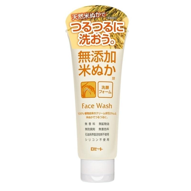 無添加米ぬか洗顔フォーム / 本体 / 140g / しっとり / 無香料