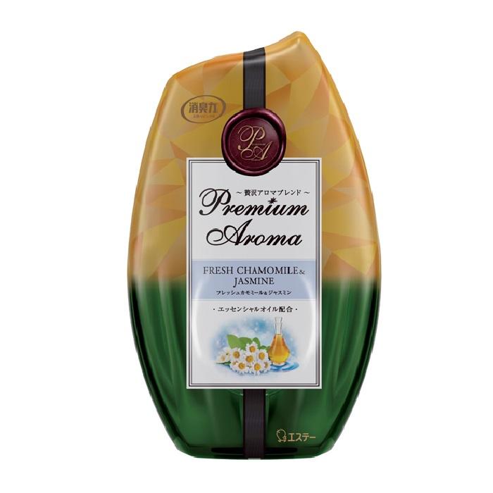 玄関・リビング用 消臭力 Premium Aroma / 本体 / フレッシュカモミール&ジャスミン