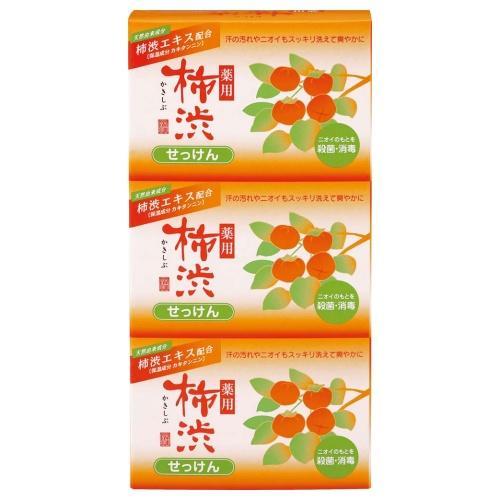 薬用 柿渋石けん 3個パック / 300g