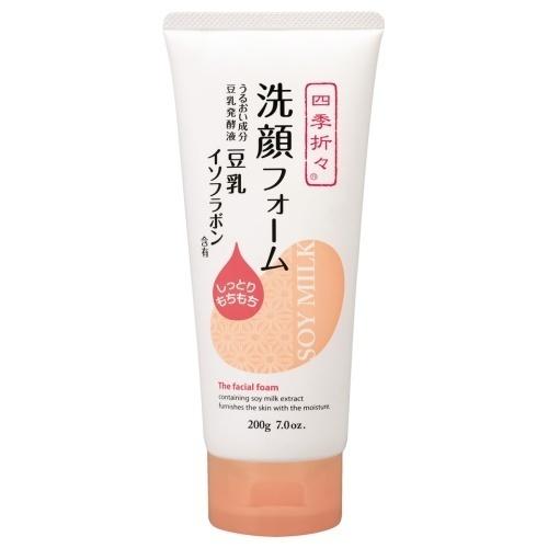 豆乳イソフラボン洗顔フォーム