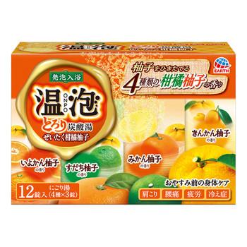 とろり炭酸湯 ぜいたく柑橘柚子 / 12錠
