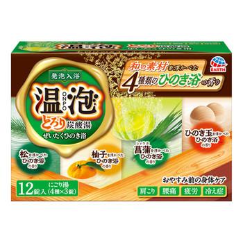 とろり炭酸湯 ぜいたくひのき浴 / 12錠