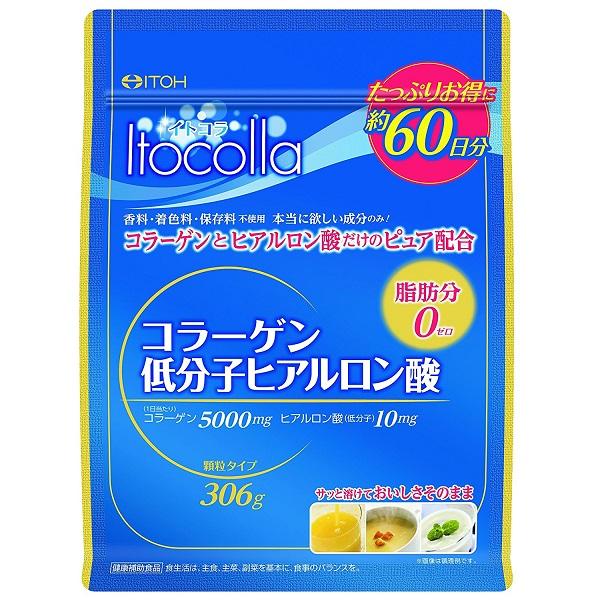 イトコラ コラーゲン低分子ヒアルロン酸 / 60日分 / 306g