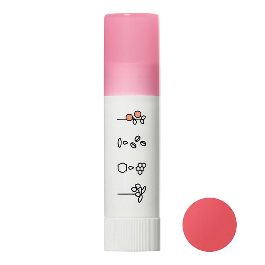 ほんのり色づくリップクリーム / 本体 / ヌードピンク / 3.5g / アップルの香り