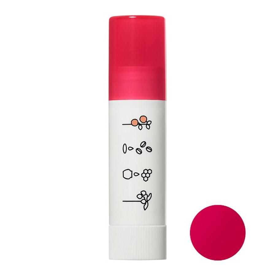 ほんのり色づくリップクリーム / 本体 / ピュアレッド / 3.5g / アップルの香り