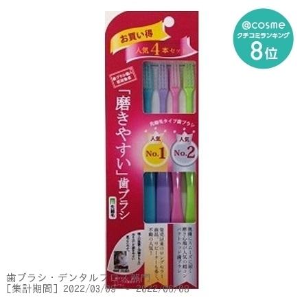磨きやすい歯ブラシ / LT-21 人気NO1、NO2セット