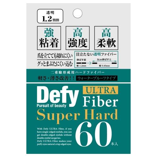 Defy ウルトラファイバーI I / クリア/1.2mm / 60本