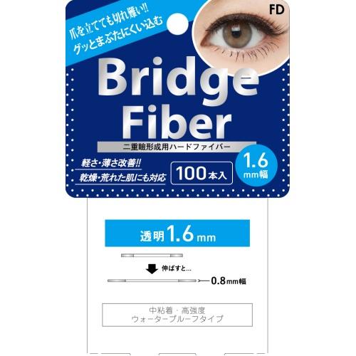 FDブリッジファイバーI I / クリア/1.6mm / 100本