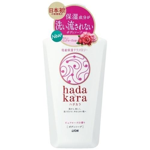 hadakara ボディソープ ピュアローズの香り / 本体 / 500ml