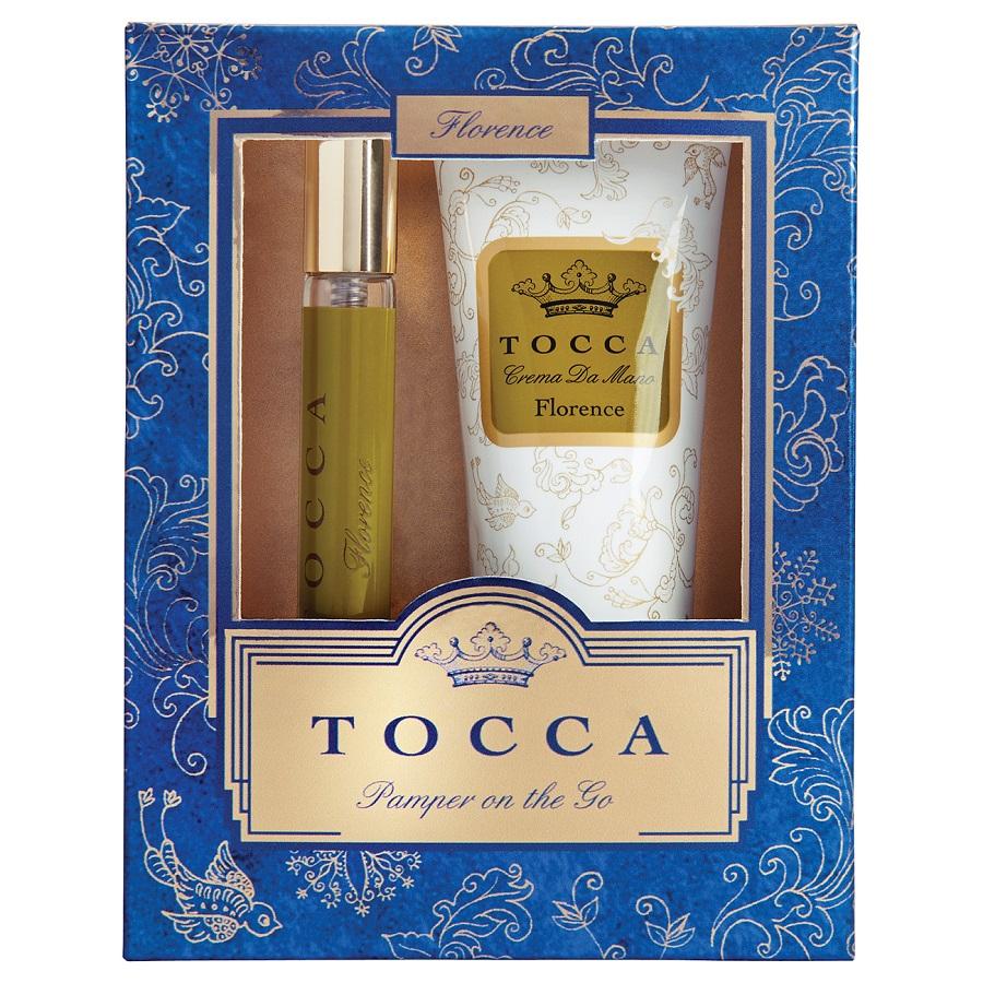 トラベルパンパーセットギルディッド フローレンス / オードパルファムスプレー4.5ml、ハンドクリーム40ml / フローレンスの香り