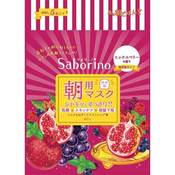 目ざまシート 完熟果実の高保湿タイプ / 5枚入り / 49ml