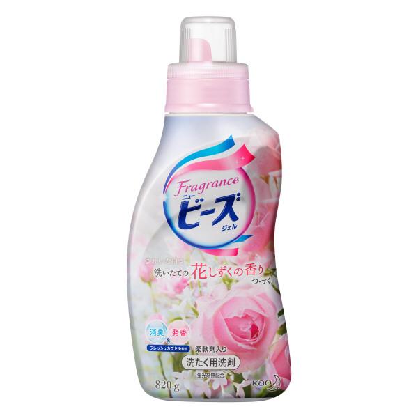 フレグランスニュービーズジェル / 本体 / 820g / 花しずくの香り