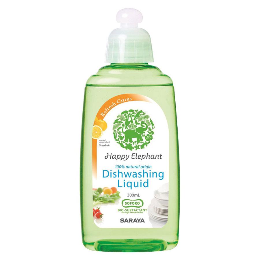 野菜・食器用洗剤 リフレッシュ / 300mL / グレープフルーツ(天然精油)の香り