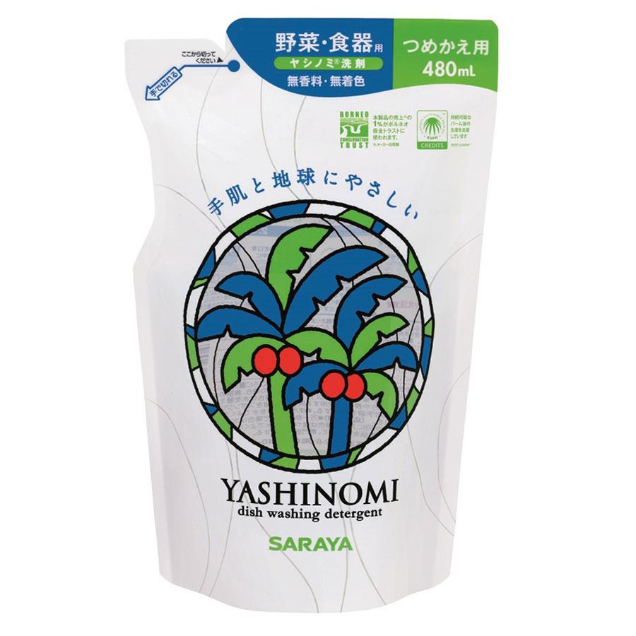 ヤシノミ洗剤 / 詰替用 / 480mL / 無香料