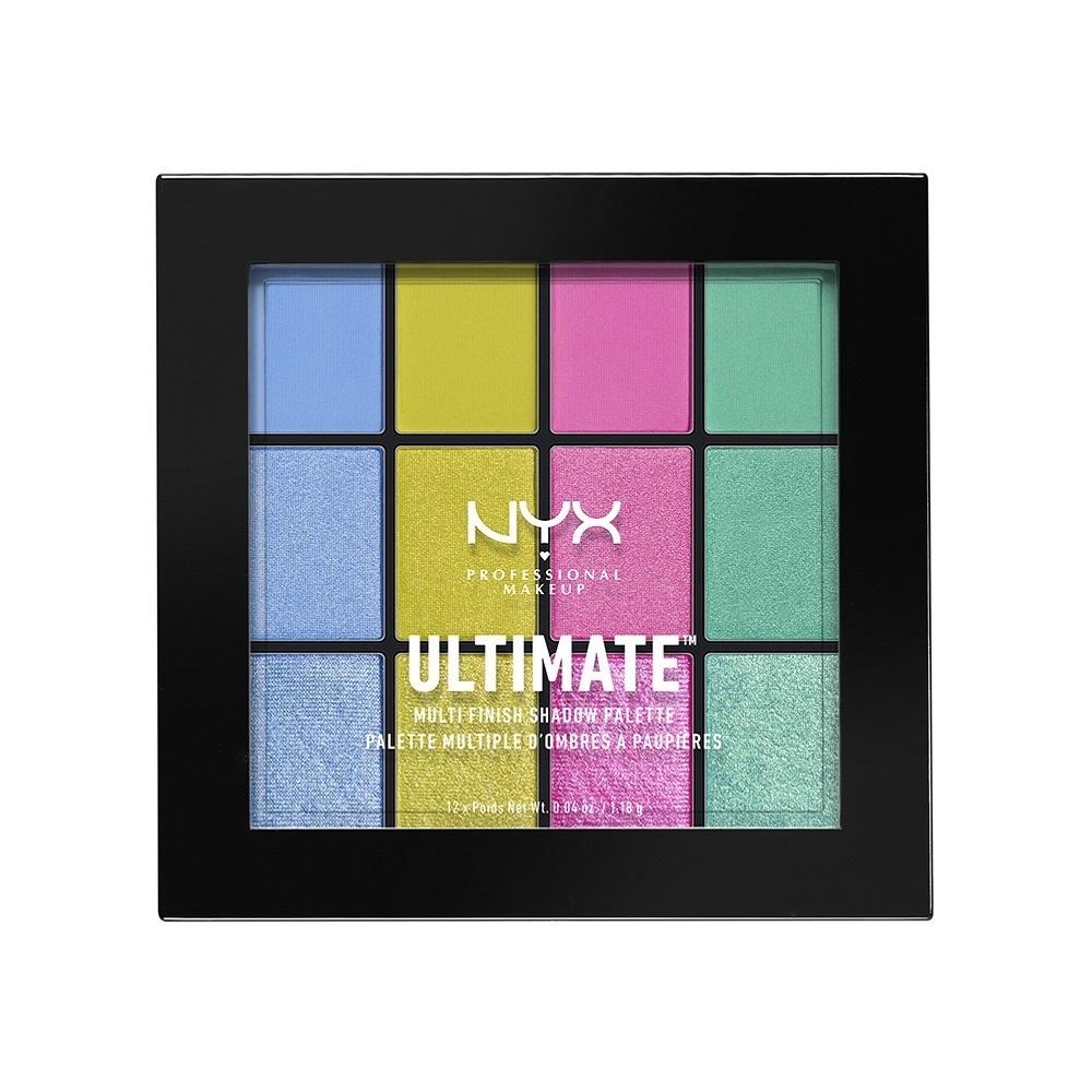 UT シャドウ パレット - ミックス フィニッシュ / 05 カラー・エレクトリック / 1.18g x 12