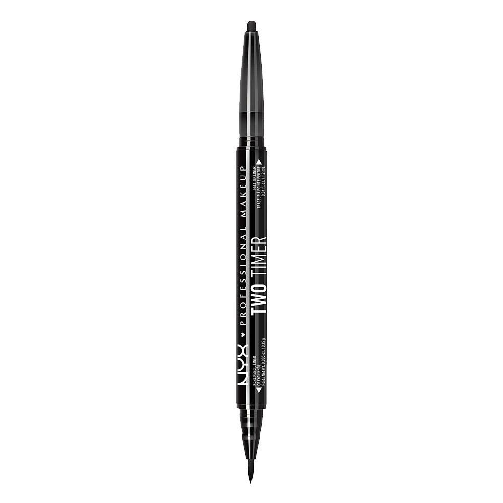 ツー タイマー デュアル アイライナー / 01 カラー・ブラック / Pencil: 0.15g Liquid: 1.2ml