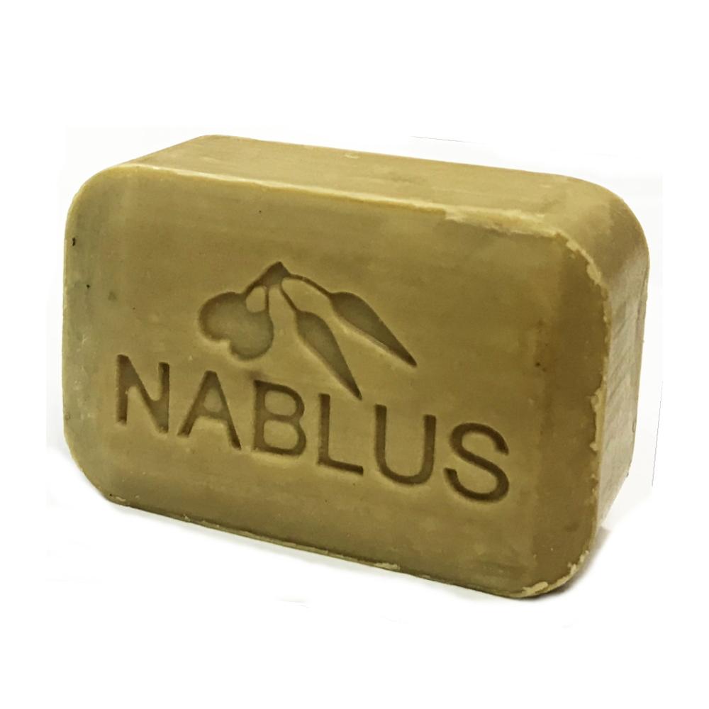 ナーブルスソープ(アボカド)オーガニック・ヴィーガン洗顔&ボディー石鹸 / 100g / アボカドオイルの香り