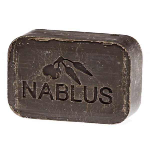 ナーブルスソープ(死海の泥)オーガニック・ヴィーガン洗顔&ボディー石鹸 / 100g / 死海の泥の香り