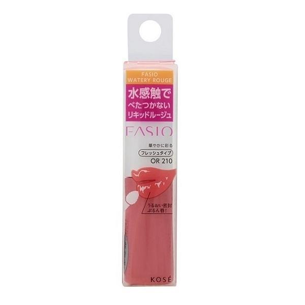 ウォータリー ルージュ / オレンジ系(フレッシュ)・OR 210 / 6g