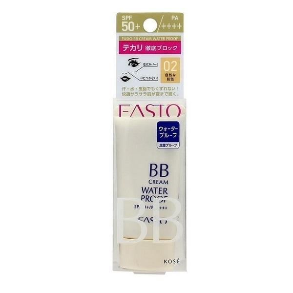 BB クリーム ウォータープルーフ / SPF50+ / PA++++ / 自然な肌色・02 / 30g