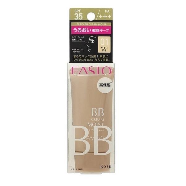 BB クリーム モイスト / SPF35 / PA+++ / 明るい肌色・01 / 30g