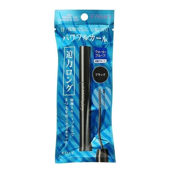 パワフルカール マスカラ EX (ロング) / ブラック・BK001 / 5g